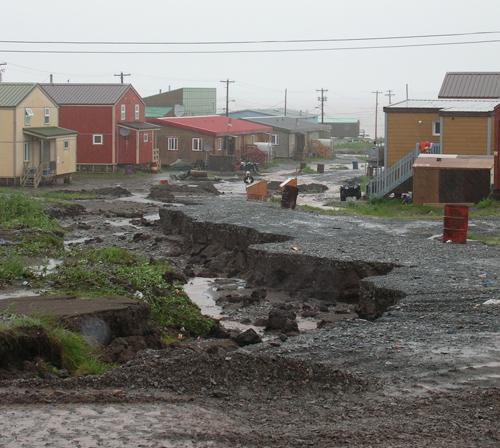Impact of climate change on Northern community drainage systems