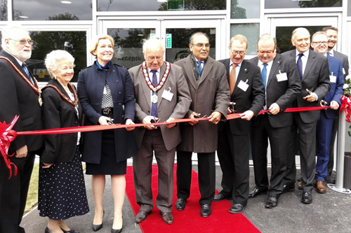 Hawarden Lab Opening